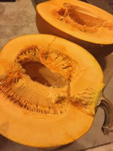 baking pumpkin