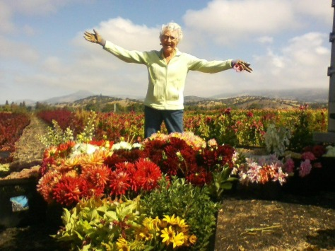 Grandma Flower Love