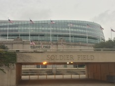 Conference walk break to Solider Field