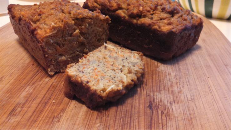 carrotbanana loaf