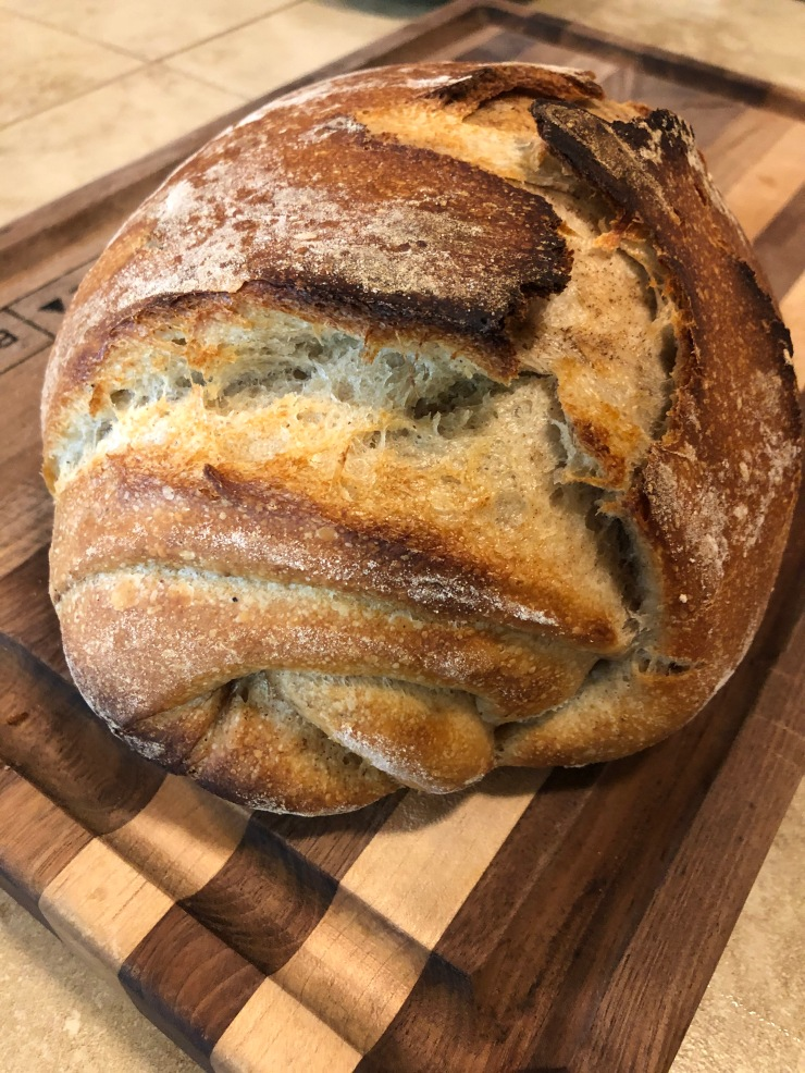 cinn twist loaf